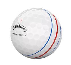 Callaway Chrome Soft X Triple Track Ball (L33+)