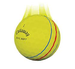 Callaway ERC Soft Vapor Ball, Yellow (Slow Meter) (L1+)