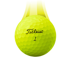 Titleist Pro V1 Super Vapor Ball, Yellow (L60+)