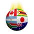 3 Pack of Team INTERNATIONAL Team 2013 Vapor Balls