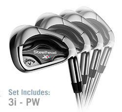 Callaway Steelhead XR Iron Set (L85+)