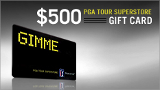 Shop the PGATour Superstore with a $500 Gift Card