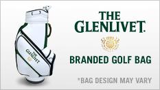 The Glenlivet-branded Premium Golf Bag