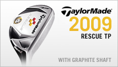 TaylorMade Rescue TP with Graphite Shaft