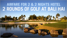 Trip for two to Bali Hai Golf Club