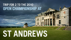 Trip for 2 to the 2010 Open Championship