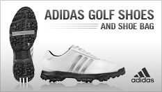 Adidas Complite Golf Shoes and Shoe Bag
