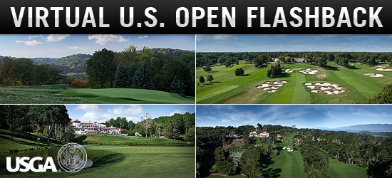 Virtual U.S. Open Flashback