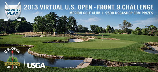 Virtual U.S. Open Front 9 Challenge