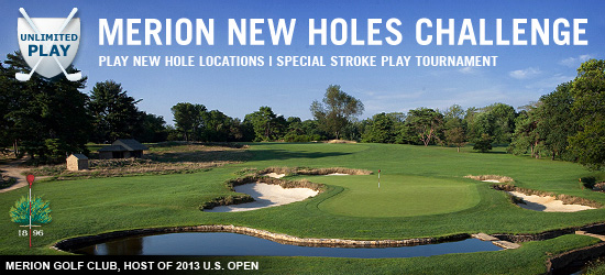 Merion New Holes Challenge