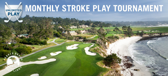 April Monthly Pebble Beach 18-Hole Unlimited