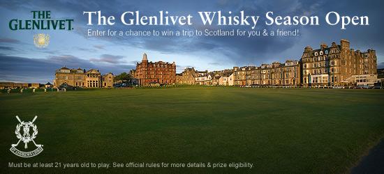 The Glenlivet Whisky Season Open