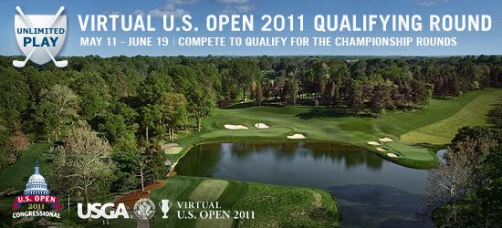 Virtual U.S. Open Qualifying Round