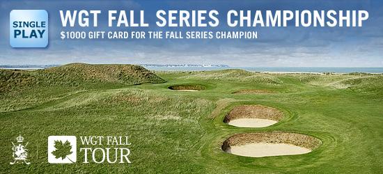 WGT Fall Tour Championship