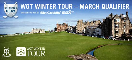 WGT Winter Tour – March Qualifier